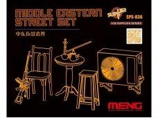 Meng Model - MIDDLE EASTERN STREET SET, 1/35, SPS-036