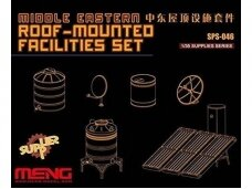 Meng Model - Middle Eastern Roof-Mounted Facilities Set, 1/35, SPS-046