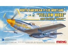 Meng Model - North American P-51D Mustang `Yellow Nose`, Scale: 1/48, LS-009