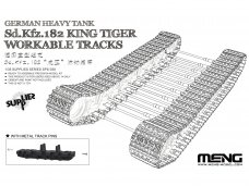 "Meng Model - German Heavy Tank Sd.Kfz.182 ""King Tiger"" Workable Tracks, 1/35, SPS-038"