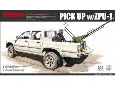 Meng Model - Pick Up w/ZPU-1, 1/35, VS-001
