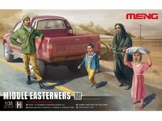 Meng Model - Middle Easteners, Scale: 1/35, HS-001