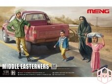 Meng Model - Middle Easteners, Mastelis: 1/35, HS-001