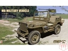 Meng Model - MB Military Vehicle, Scale: 1/35, VS-011
