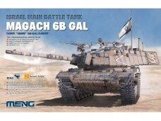 Meng Model - Israel Main Battle Tank Magach 6B Gal, 1/35, TS-044