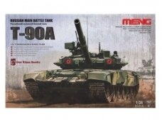 Meng Model - Russian T-90A Russian Main Battle Tank, Mastelis: 1/35, TS-006