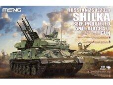 Meng Model - Russian ZSU-23-4 Shilka Self-Propelled Anti-Aircraft Gun, 1/35, TS-023