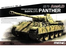 Meng Model - Sd.Kfz.171 Panther Ausf.D, Scale: 1/35, TS-038