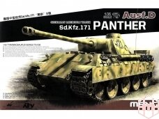 Meng Model - Sd.Kfz.171 Panther Ausf.D, Mastelis: 1/35, TS-038