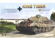 Meng Model - Sd.Kfz.182 King tiger (Porsche Turret), Mastelis: 1/35, TS-037