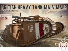 Meng Model - British Heavy Tank Mk.V Male, Mastelis: 1/35, TS-020