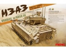 Meng Model - US Cavalry Fighting Vehicle M3A3 Bradley w/Busk III, Mastelis: 1/35, SS-006