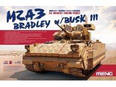 Meng Model - U.S. Infantry Fighting Vehicle M2A3 Bradley w/BUSK III, Scale: 1/35, SS-004