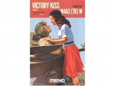 """Meng Model - M4A3(76) W """"Victory Kiss"""" w/Resin Figures + detail upgrade Set (PE) Limited Edition, 1/35, SS-ES-006"""