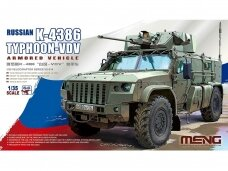 Meng Model - Russian K-4386 Typhoon-VDV Armored Vehicle, Scale: 1/35, VS-014