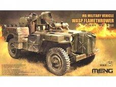 Meng Model - Wasp Flamethrower Jeep, Mastelis: 1/35, VS-012