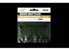 Meng Model - Beer Bottles for Vehicle/Diorama 4 Types, 1/35, SPS-011