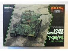 Meng Model - World War Toon Soviet Medium Tank T-34/76, WWT-006