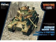 Meng Model - World War Toons PzKpfw V Panther German Medium Tank, WWT-007