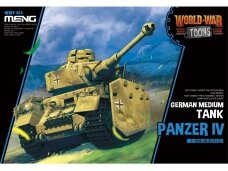 Meng Model - World War Toons Panzer IV German Medium Tank, WWT-013