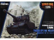 Meng Model - World War Toons Tiger (P) VK 45.01 Germany Heavy Tank, WWT-015