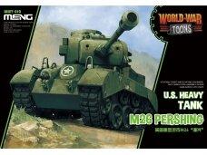 Meng Model - World War Toons M26 Pershing U.S. Heavy Tank, WWT-010