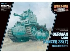 Meng Model - World War Toons Panzer 38(t), WWT-011