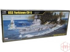 Merit International - U.S. Navy Aircraft Carrier USS Yorktown CV-5 (1942), Mastelis: 1/350, 65301
