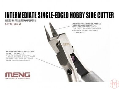 Meng Model -  Intermediate Single-edged Hobby Side Cutter (Kandyklės), MTS-022 2