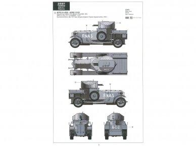Meng Model - British Rolls-Royce Armoured Car, Mastelis: 1/35, VS-010 6
