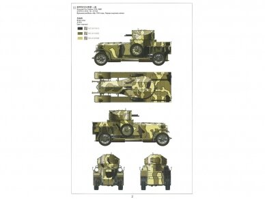 Meng Model - British Rolls-Royce Armoured Car, Scale: 1/35, VS-010 7