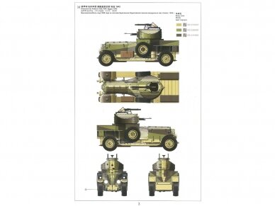 Meng Model - British Rolls-Royce Armoured Car, Scale: 1/35, VS-010 8
