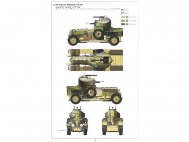 Meng Model - British Rolls-Royce Armoured Car, Mastelis: 1/35, VS-010 8