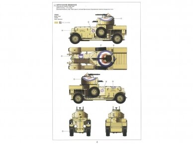 Meng Model - British Rolls-Royce Armoured Car, Scale: 1/35, VS-010 9