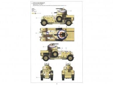 Meng Model - British Rolls-Royce Armoured Car, Mastelis: 1/35, VS-010 9