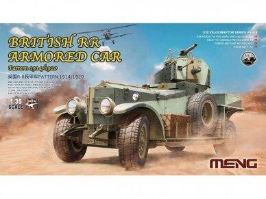 Meng Model - British Rolls-Royce Armoured Car, Mastelis: 1/35, VS-010