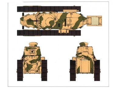 Meng Model - FRENCH FT-17, Scale: 1/35, TS-011 12