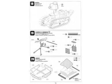 Meng Model - FRENCH FT-17, Mastelis: 1/35, TS-011 19