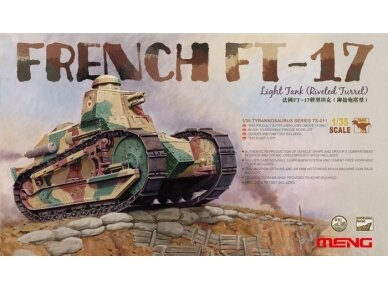Meng Model - FRENCH FT-17, Scale: 1/35, TS-011
