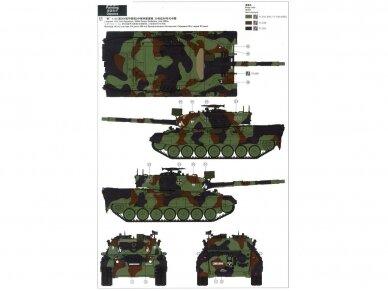 Meng Model - German Main Battle Tank Leopard 1 A3/A4, Mastelis: 1/35, TS-007 9