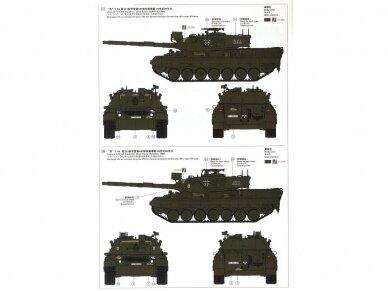 Meng Model - German Main Battle Tank Leopard 1 A3/A4, Scale: 1/35, TS-007 10