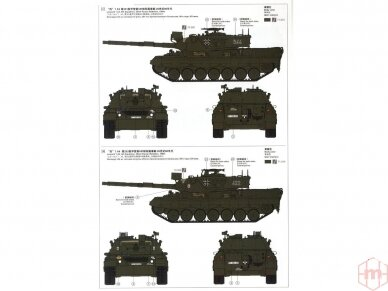 Meng Model - German Main Battle Tank Leopard 1 A3/A4, Mastelis: 1/35, TS-007 10
