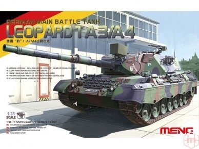 Meng Model - German Main Battle Tank Leopard 1 A3/A4, Mastelis: 1/35, TS-007