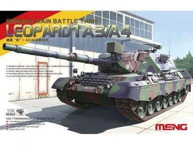 Meng Model - German Main Battle Tank Leopard 1 A3/A4, Scale: 1/35, TS-007