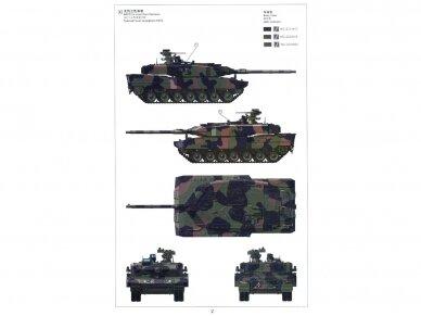 Meng Model - German Main Battle Tank Leopard 2 A7+, Scale: 1/35, TS-042 12