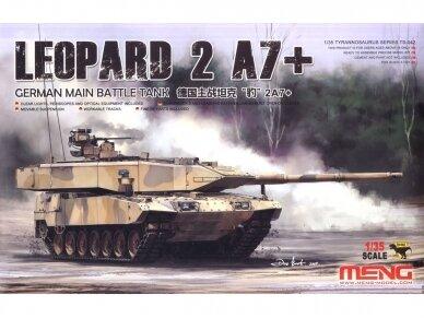 Meng Model - German Main Battle Tank Leopard 2 A7+, Scale: 1/35, TS-042