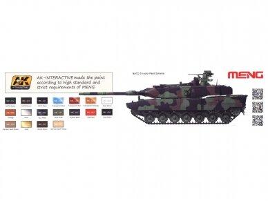 Meng Model - German Main Battle Tank Leopard 2 A7+, Scale: 1/35, TS-042 10