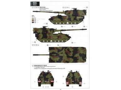 Meng Model - German Panzerhaubitze 2000 Self-Propelled Howitzer, Mastelis: 1/35, TS-012 22