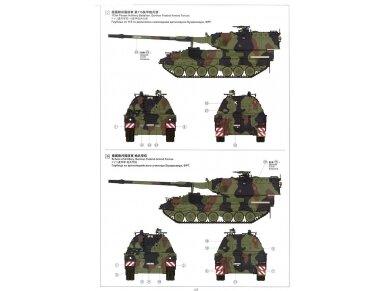 Meng Model - German Panzerhaubitze 2000 Self-Propelled Howitzer, Mastelis: 1/35, TS-012 23
