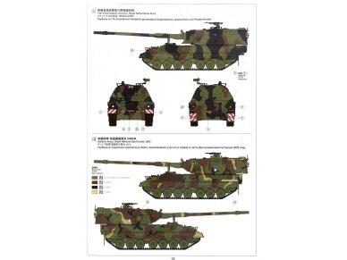 Meng Model - German Panzerhaubitze 2000 Self-Propelled Howitzer, Scale: 1/35, TS-012 24
